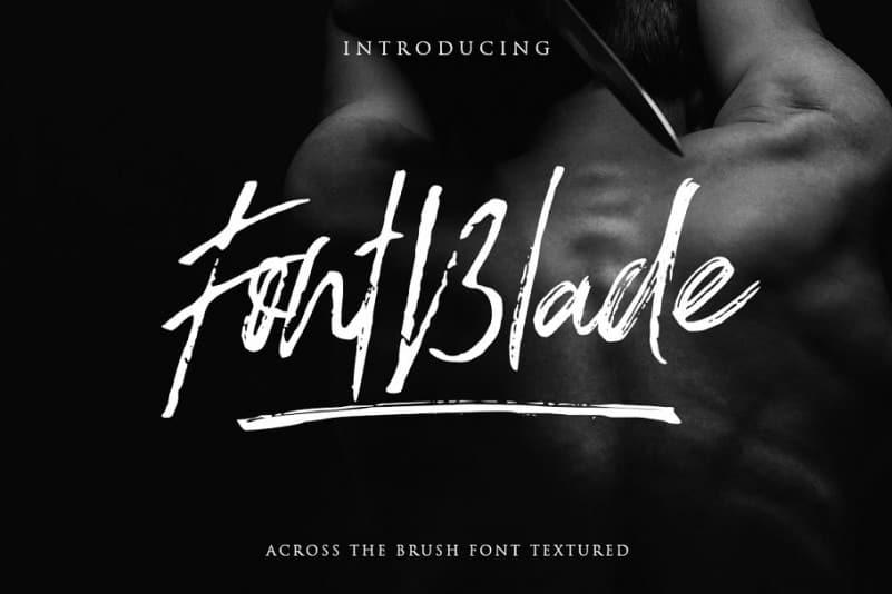 Download FontBlade font (typeface)