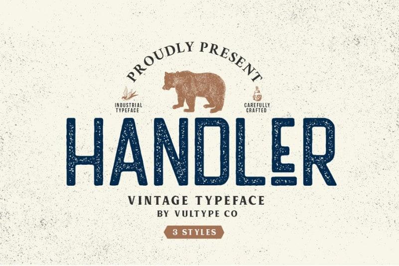 Download Handler font (typeface)