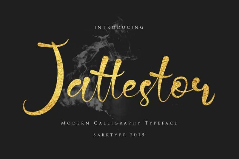 Download Jattestor font (typeface)