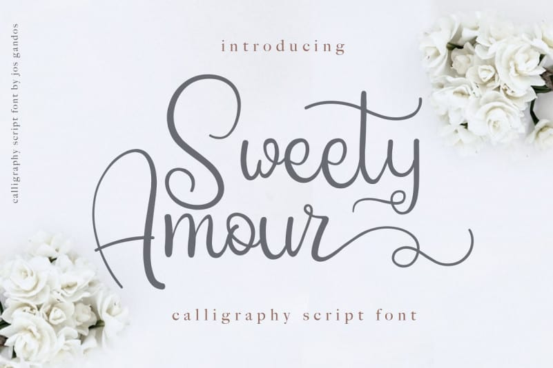 Download Sweety Amour font (typeface)