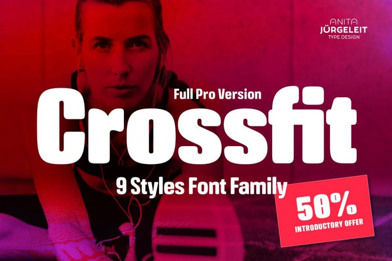 Download Crossfit font (typeface)