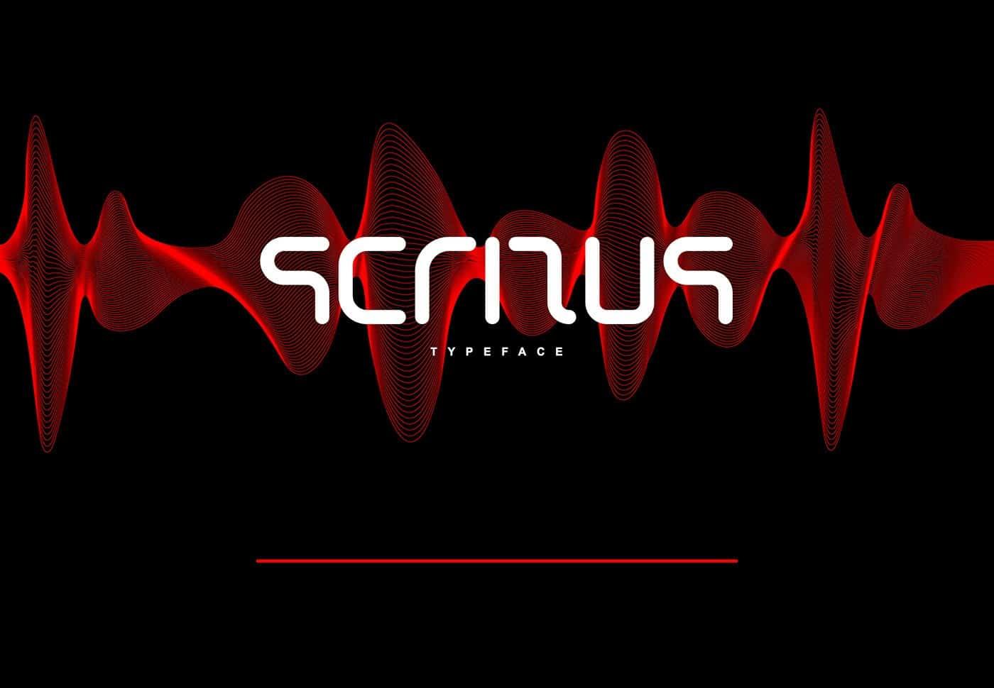 Download Scritus font (typeface)
