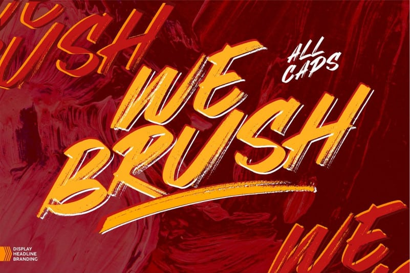 Download Webrush font (typeface)
