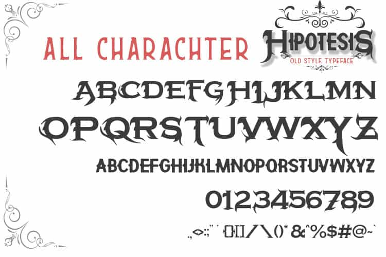 Download Hipotesis font (typeface)
