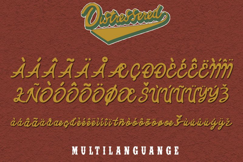 Download Distressered font (typeface)