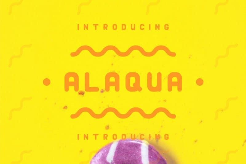 Download Alaqua font (typeface)