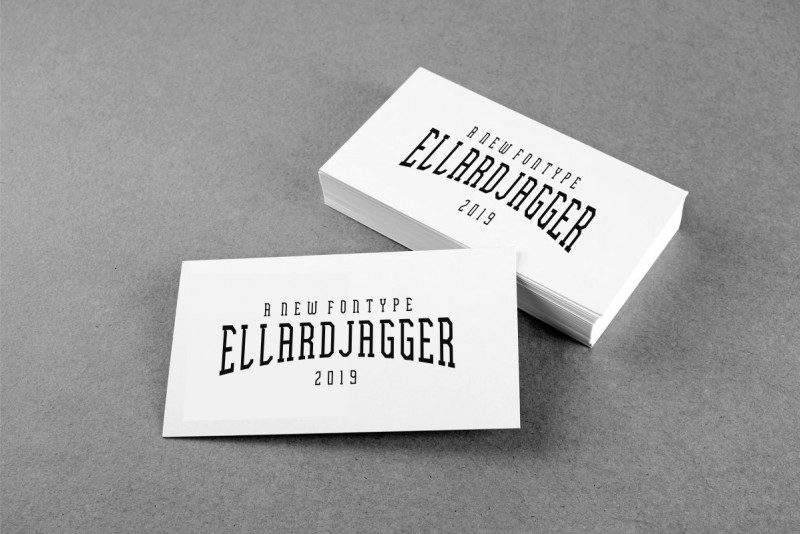 Download Ellard Jagger font (typeface)