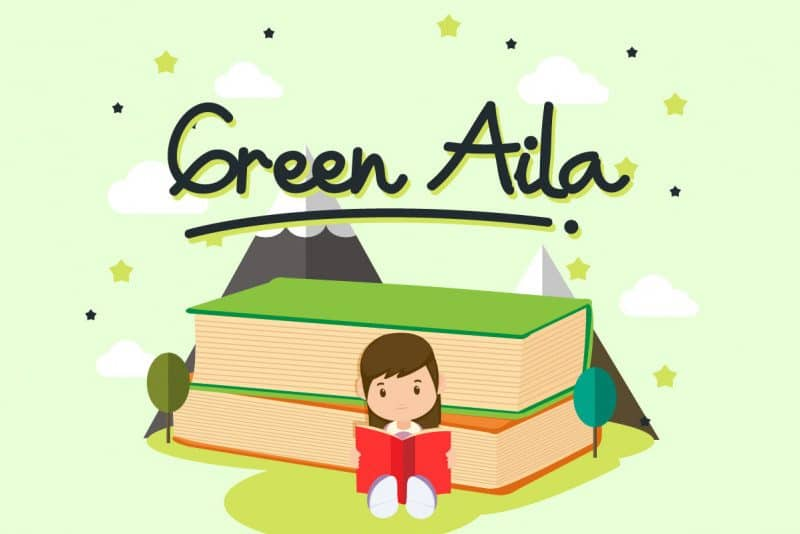 Download Green Aila font (typeface)