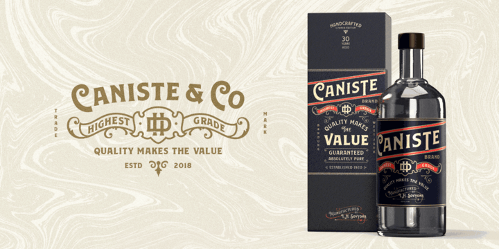 Download Caniste font (typeface)