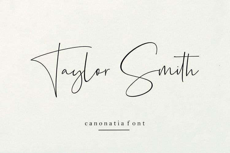 Download Canonatia font (typeface)