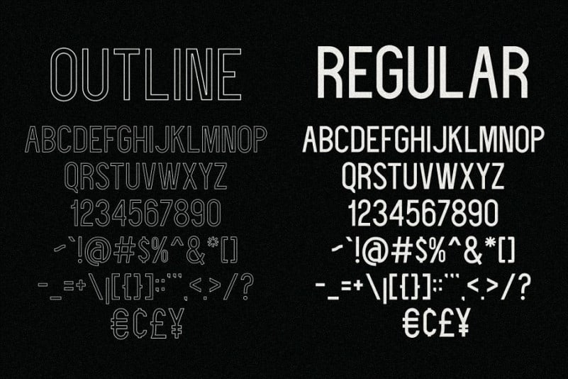 Download Deflagrate font (typeface)