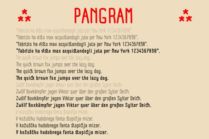 Download Impreciso font (typeface)