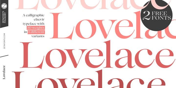 Download Lovelace font (typeface)