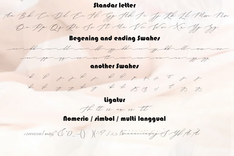 Download Vineshia Jonhson font (typeface)