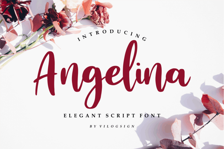 Download Angelina Playful font (typeface)