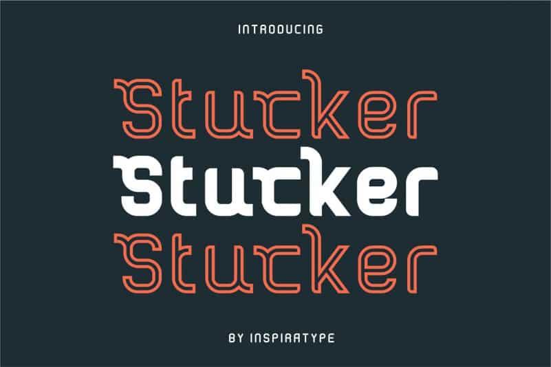 Download Stucker font (typeface)
