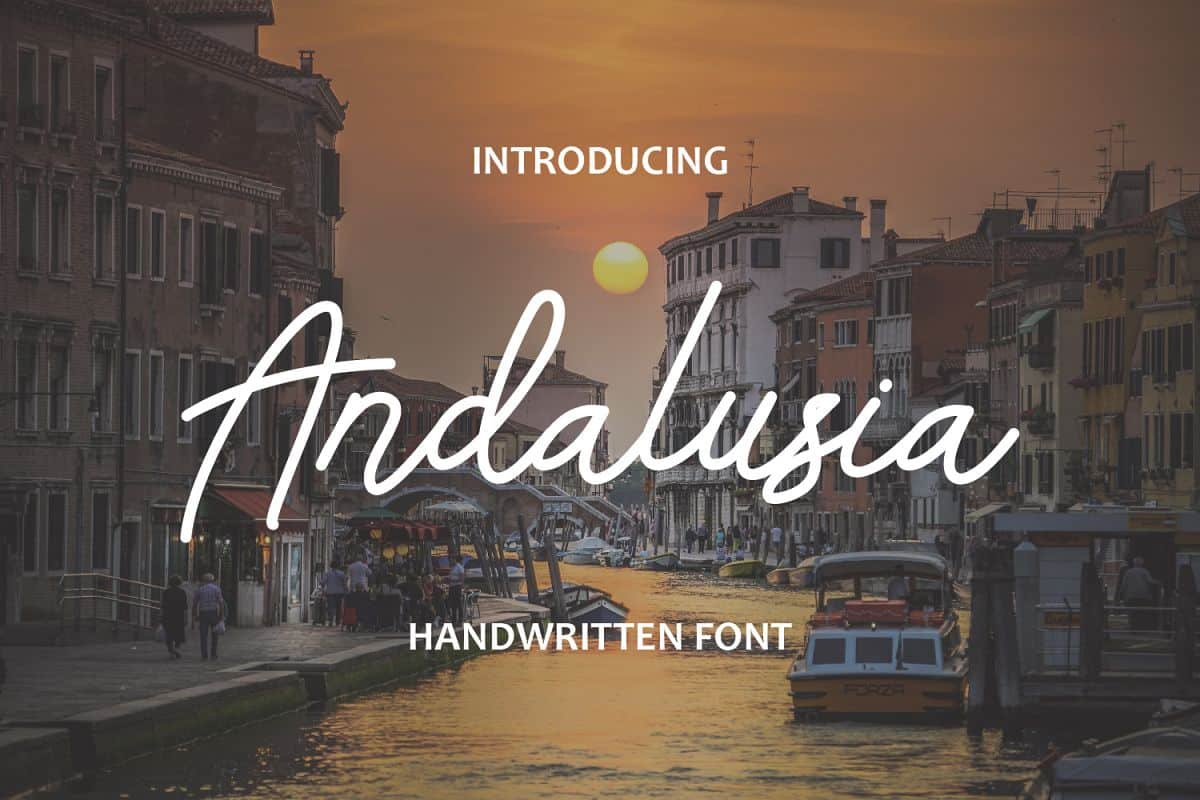 Download Andalusia font (typeface)