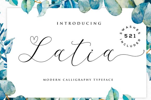 Download Latia font (typeface)