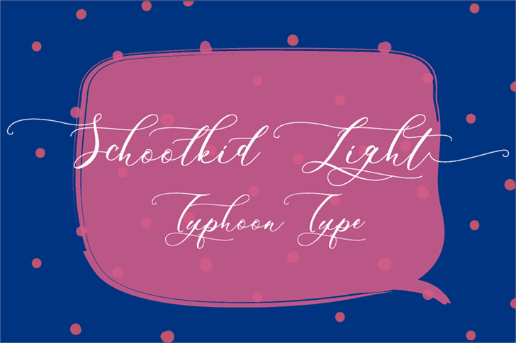 Download Schoolkid font (typeface)