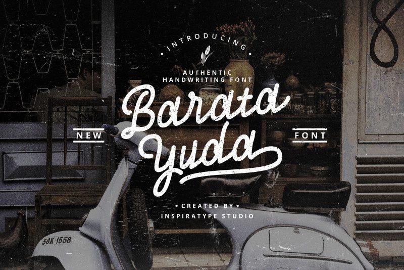 Download Baratayuda font (typeface)