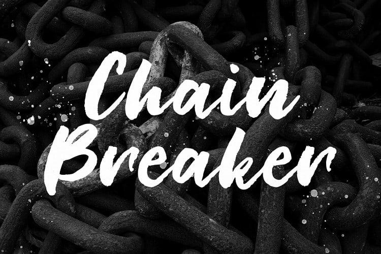 Download Chain Breaker font (typeface)
