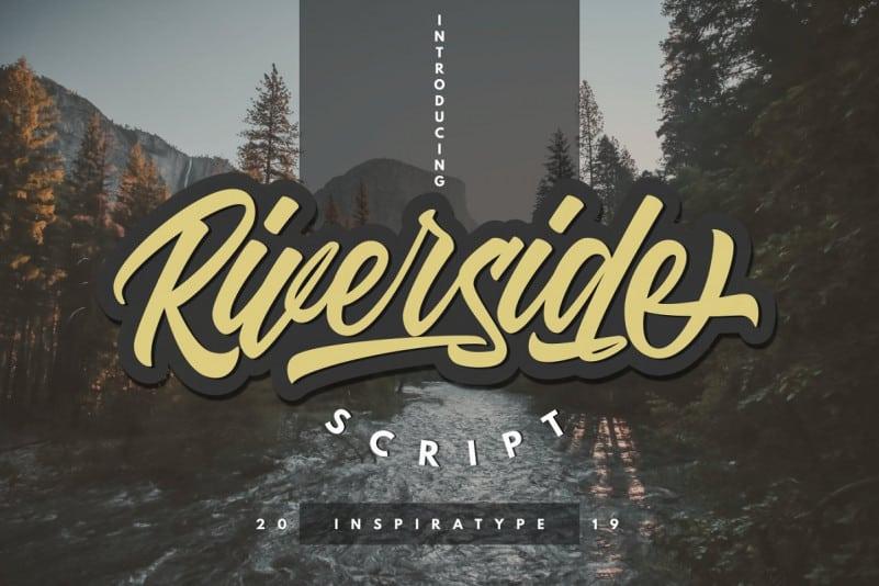Download Riverside font (typeface)