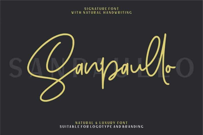 Download Sanpaullo font (typeface)