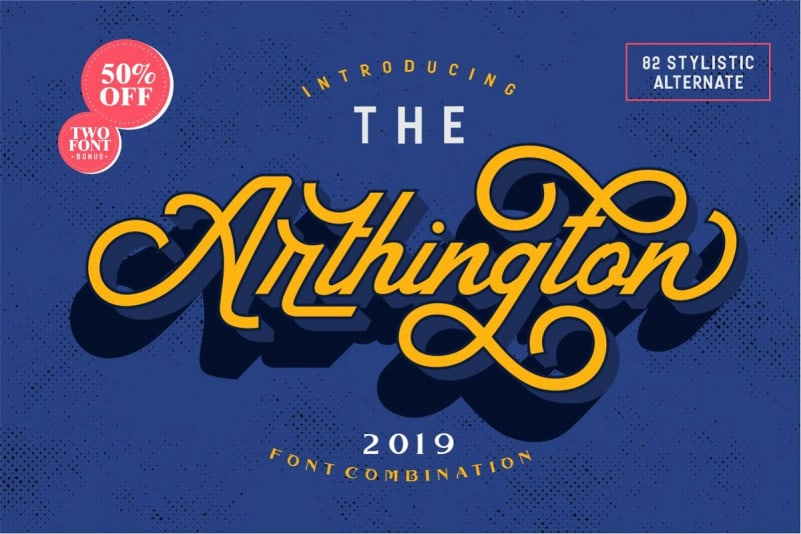 Download The Arthington font (typeface)