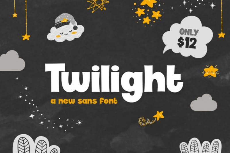 Download Twilight font (typeface)