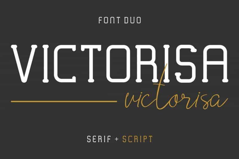 Download Victorisa font (typeface)