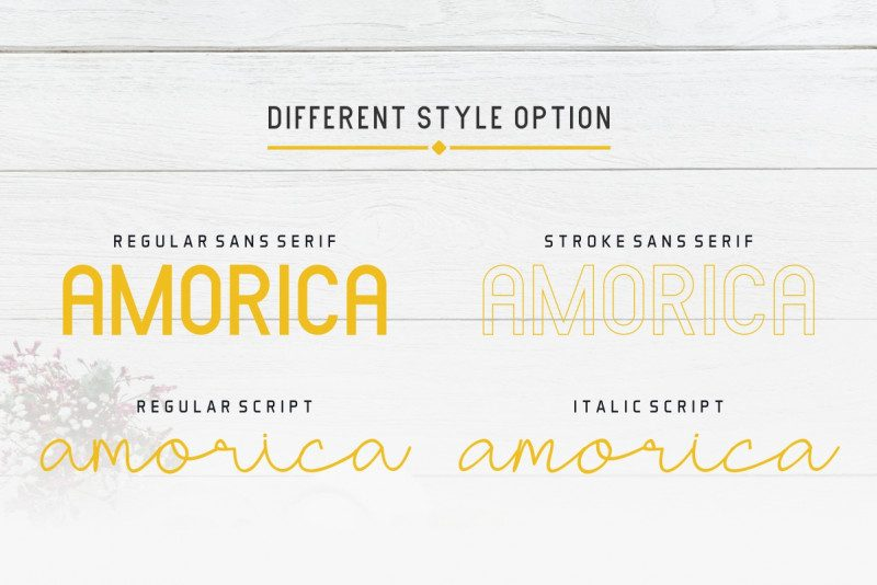 Download Amorica font (typeface)