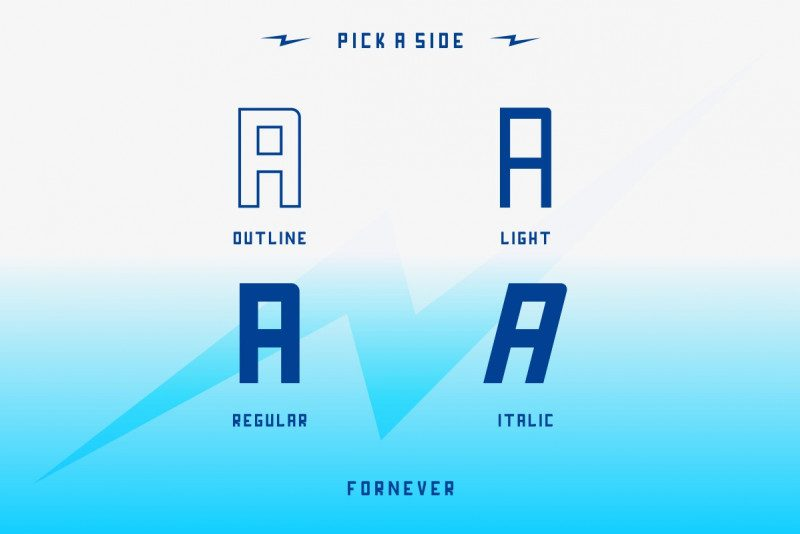 Download Fornever font (typeface)