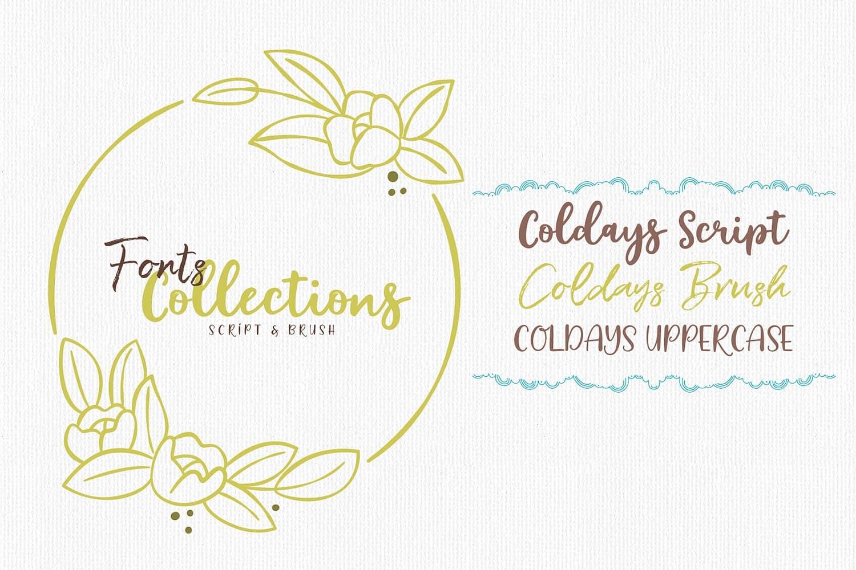 Download Coldays font (typeface)