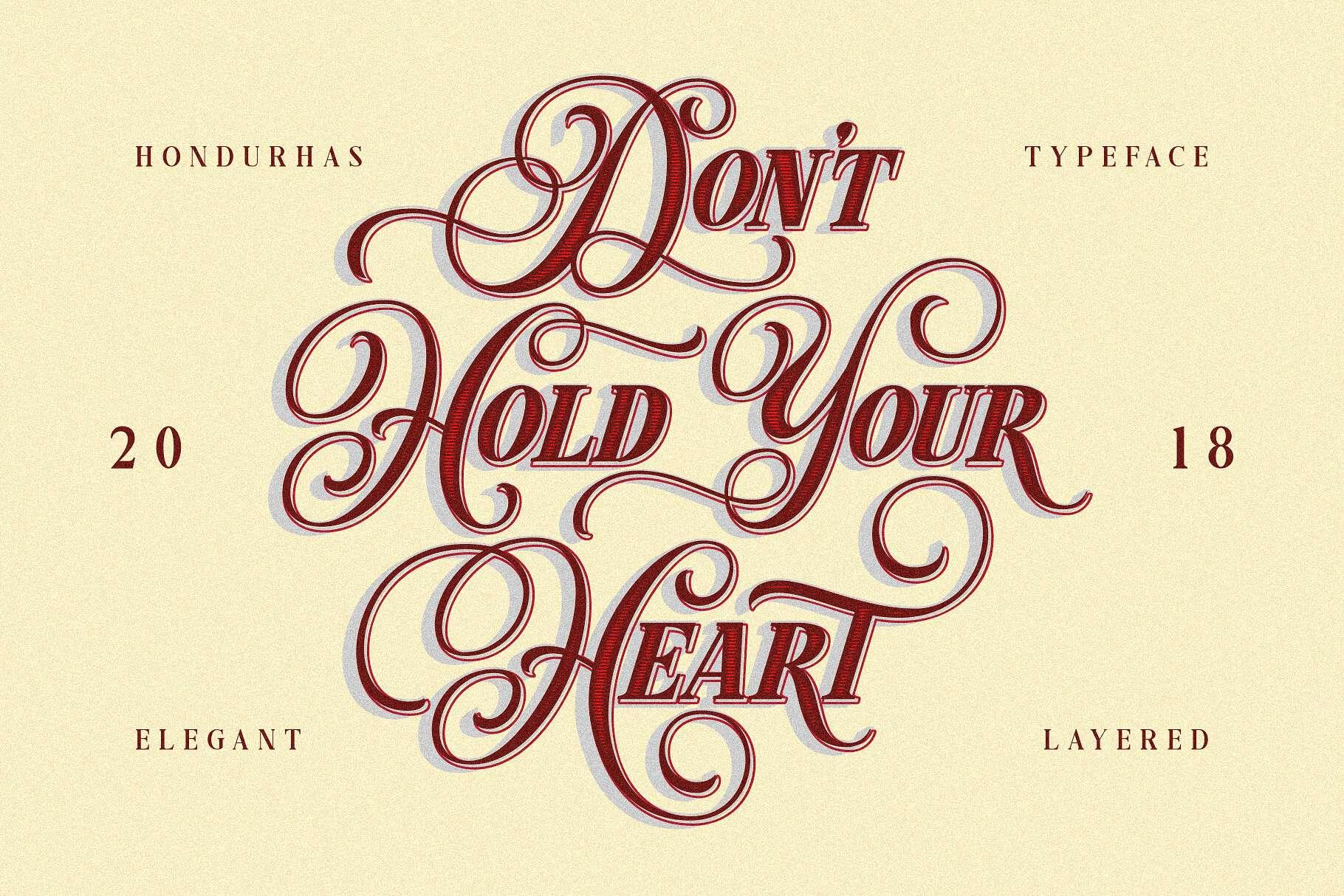 Download Hondurhas font (typeface)