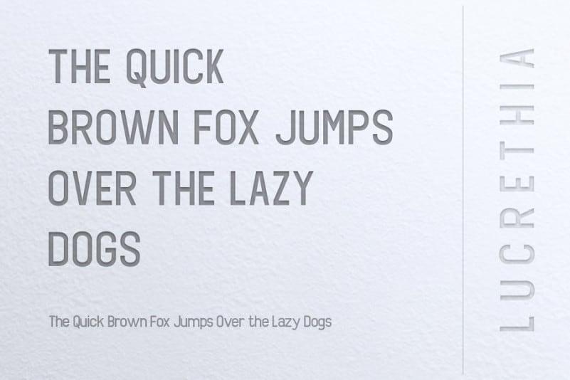Download Lucrethia font (typeface)