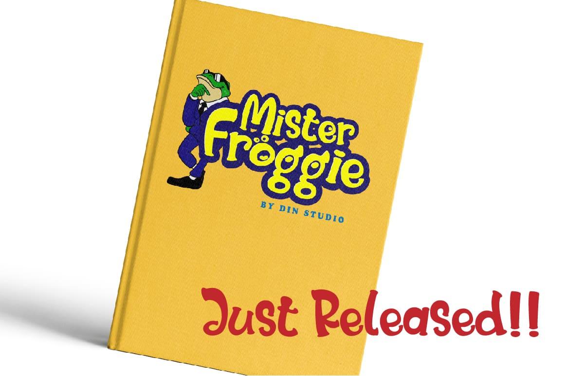 Download Mister Froggie font (typeface)