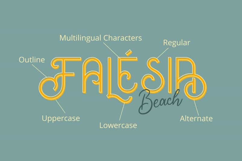 Download Oceania font (typeface)