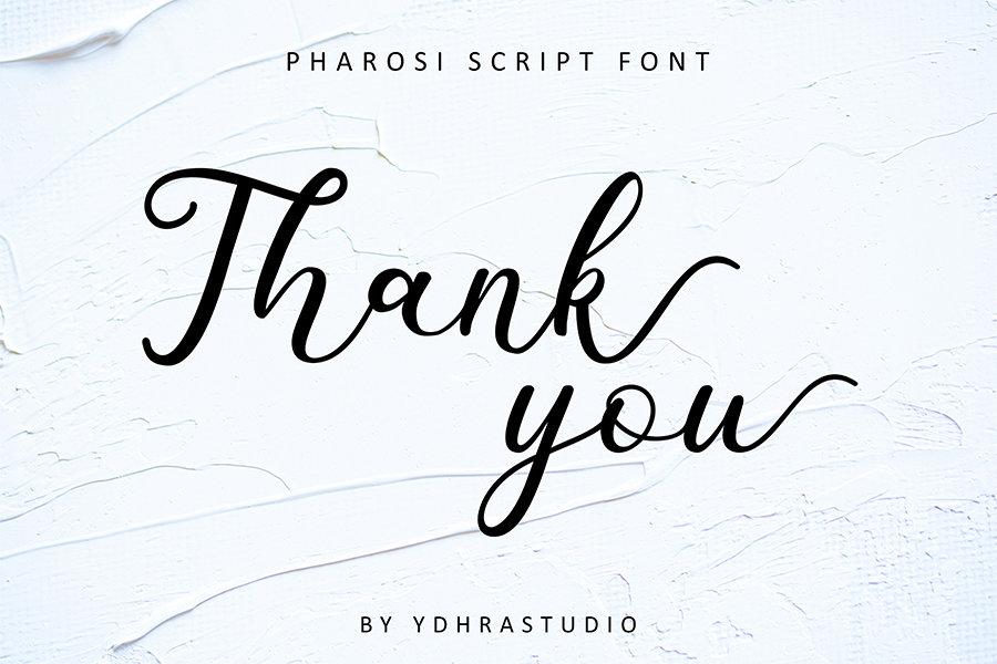 Download Pharosi font (typeface)