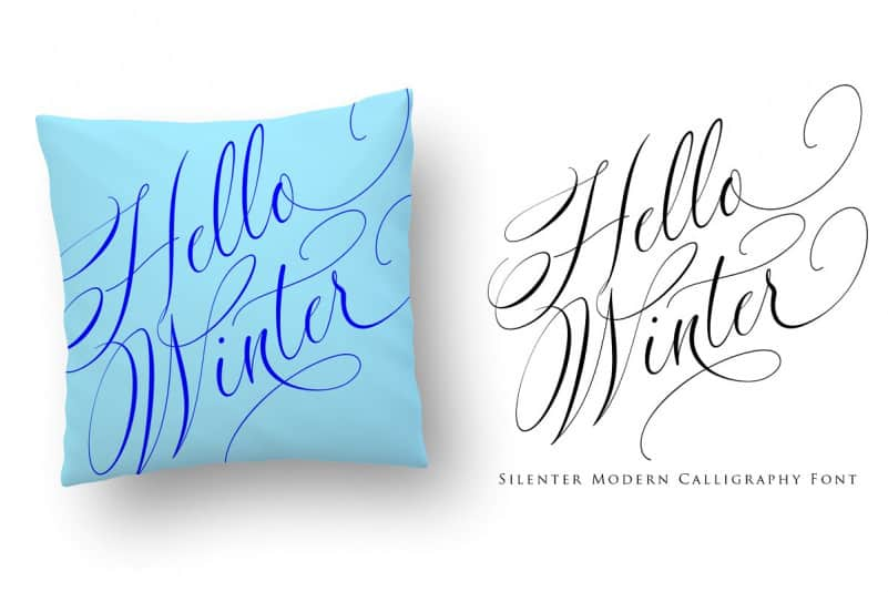 Download Silenter font (typeface)