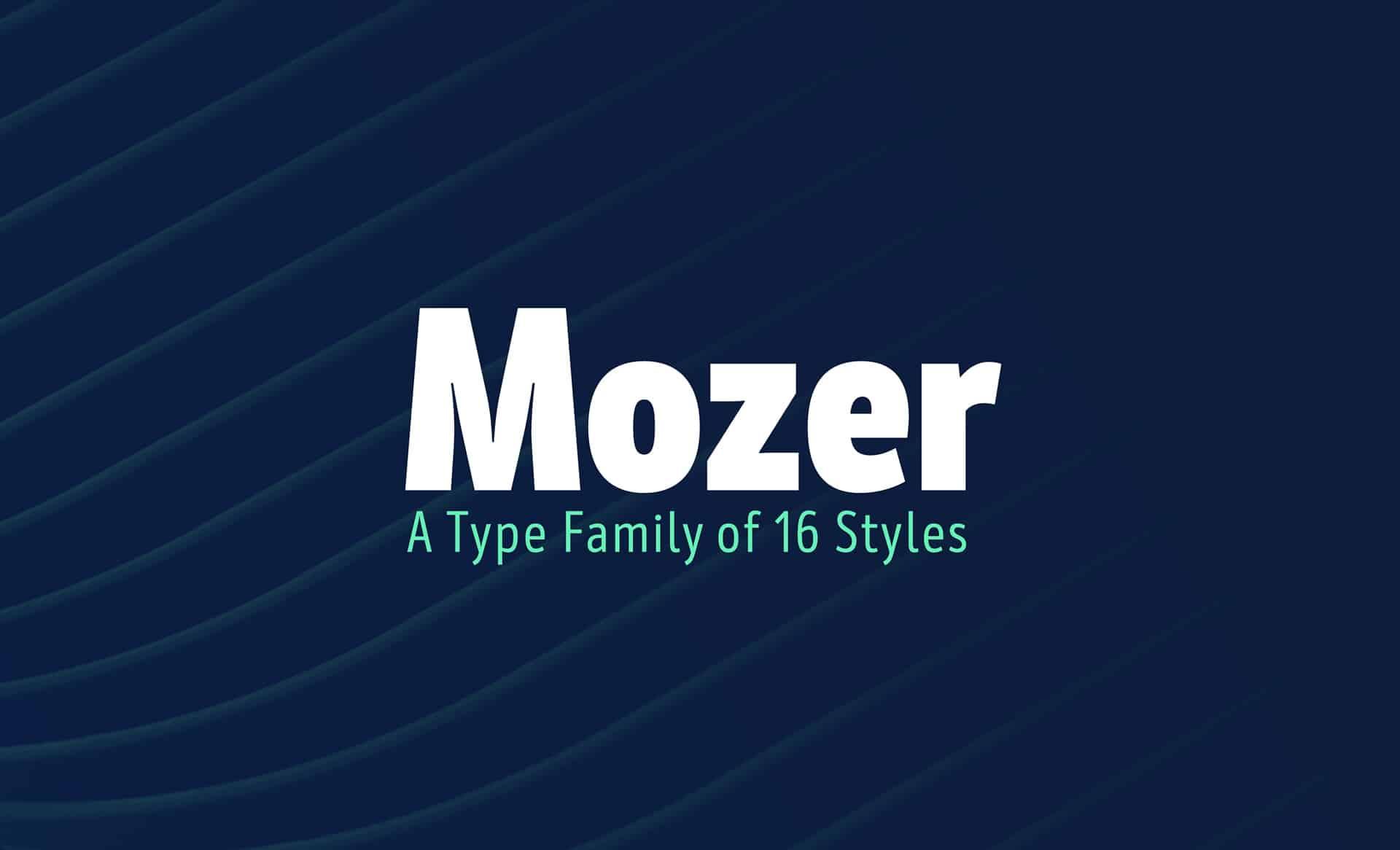 Download Mozer Semi Bold font (typeface)