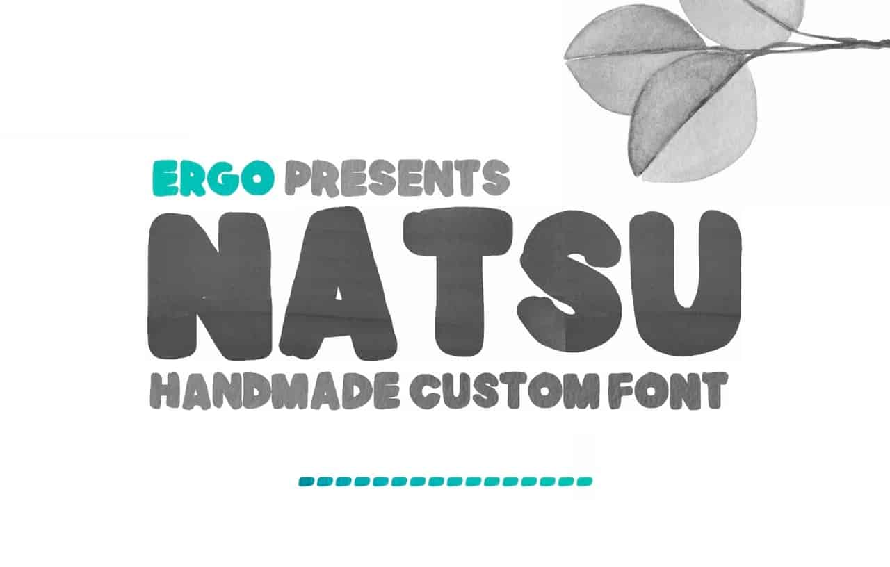 Download Natsu font (typeface)