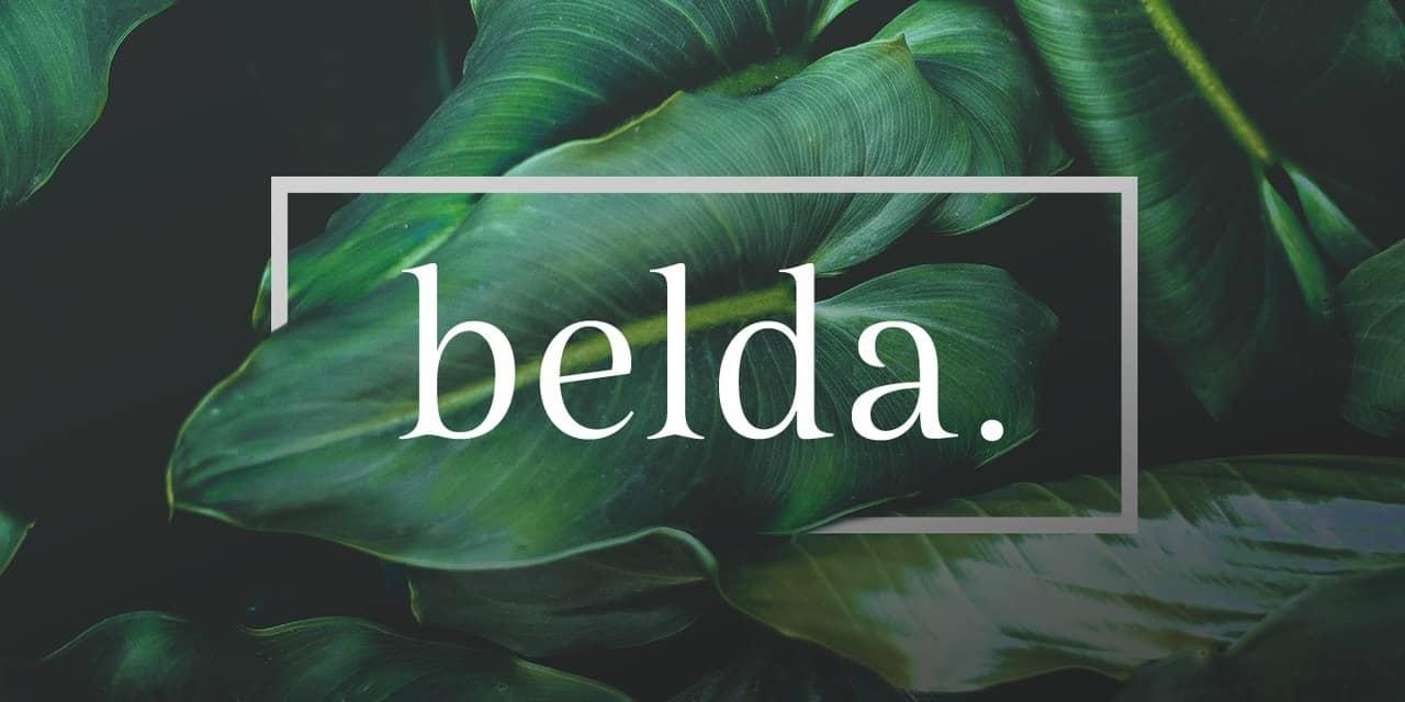 Download Belda Font font (typeface)