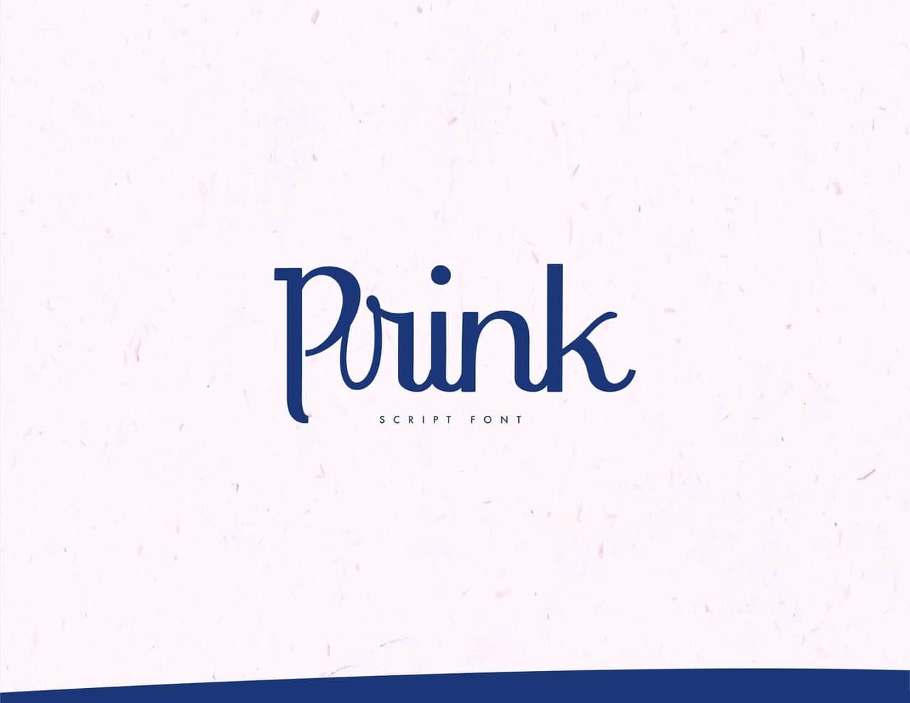 Download Prink Script font (typeface)