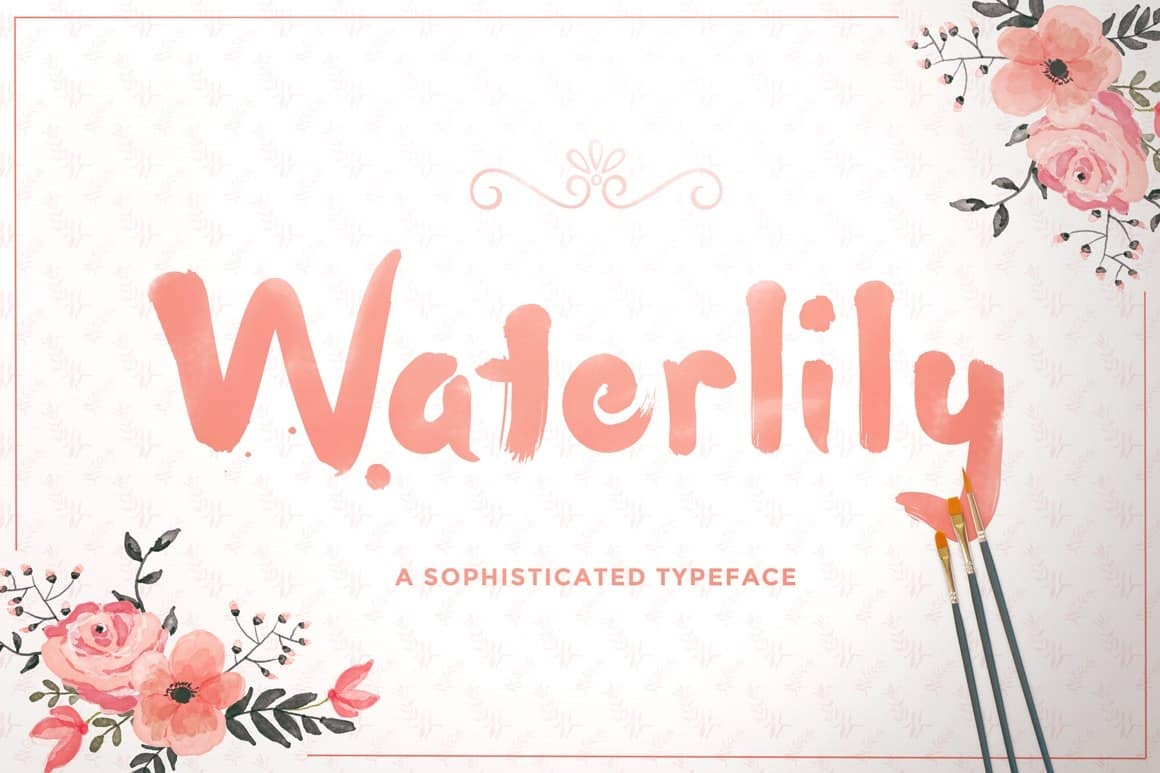 Download Waterlily font (typeface)