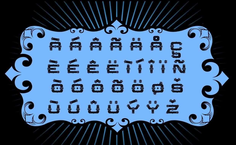 Download Santa Rosa font (typeface)