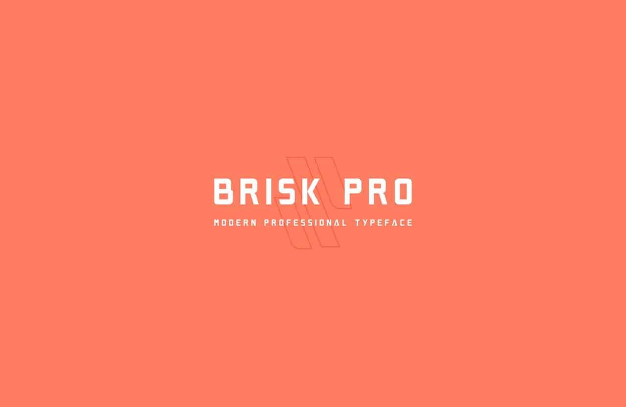 Download Brisk Pro font (typeface)