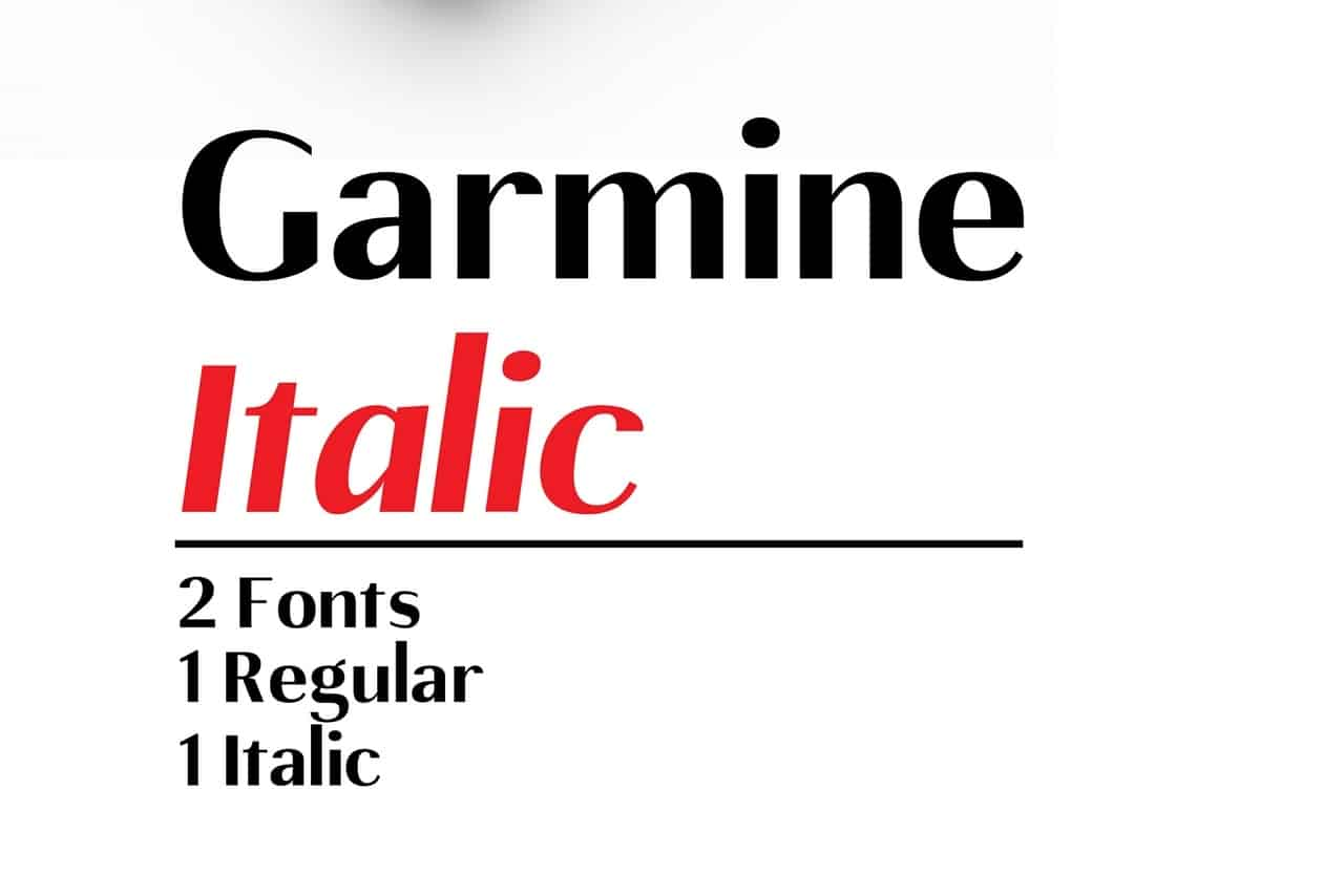 Download Gamine font (typeface)