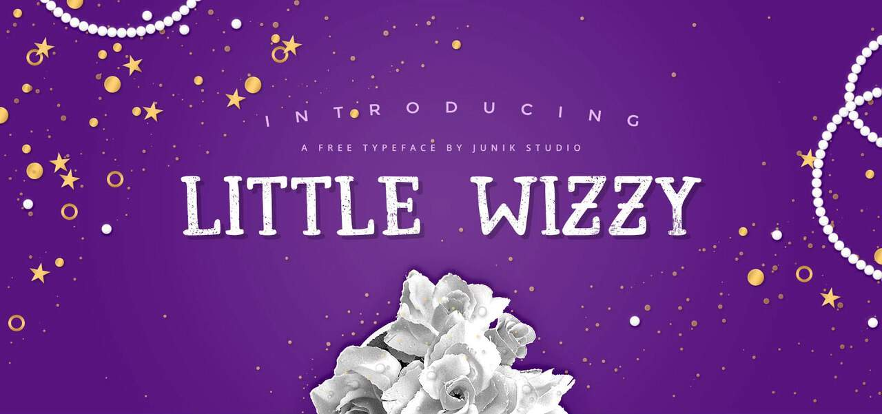 Download Little Wizzy font (typeface)