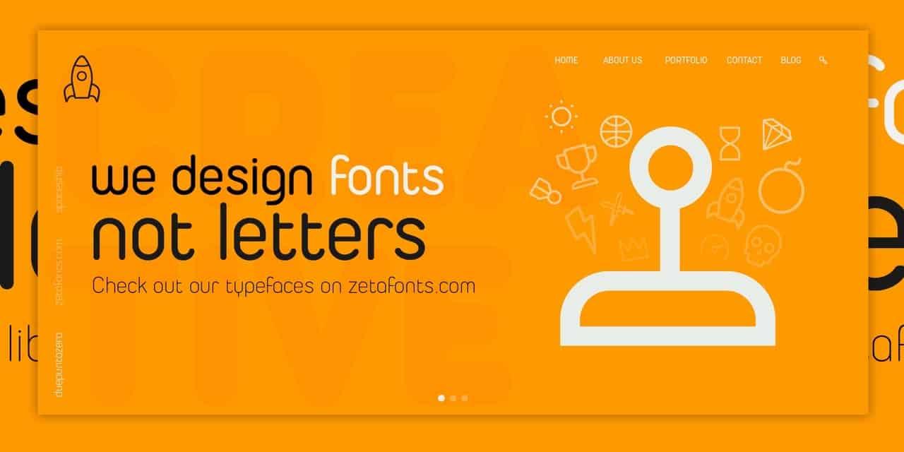 Download Duepuntozero Pro Regular font (typeface)