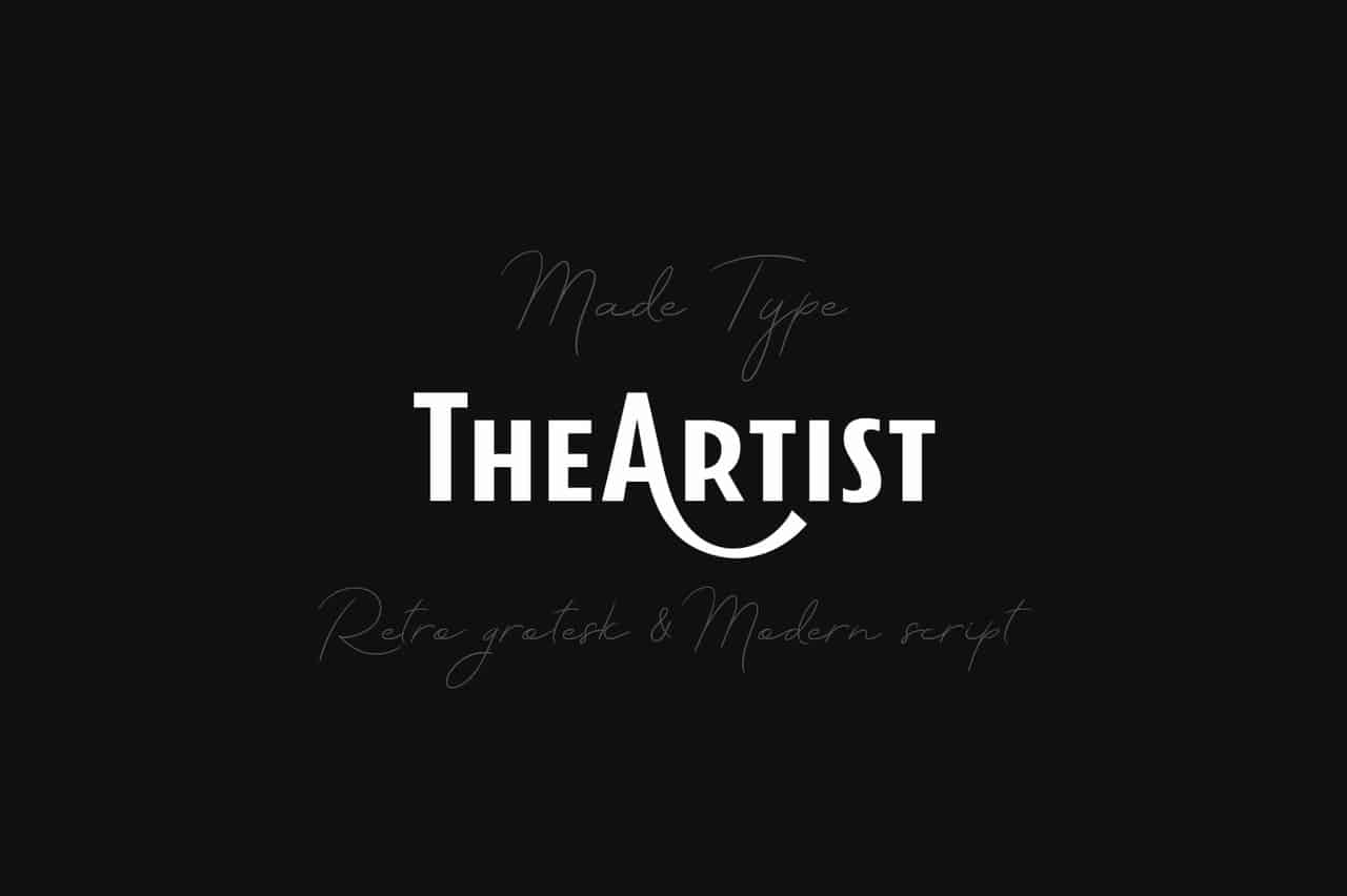 Download The Artist font (typeface)